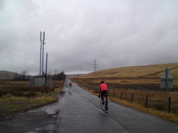 Elvanfoot in a hostile headwind...