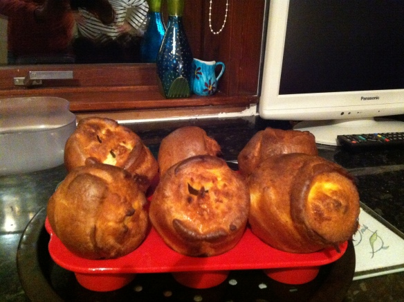 Home made yorkshire puddings - bigger and better