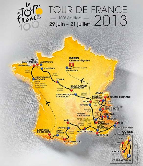 2013-Official-Tour-de-France-Route
